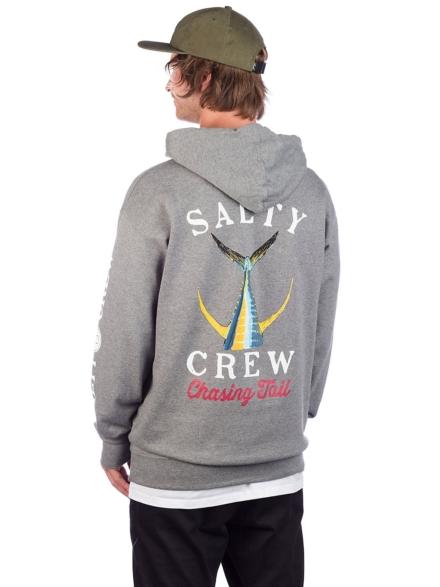 Salty Crew Tailed Hoodie grijs