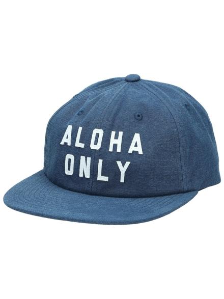 Hurley Aloha Only Washed petje blauw