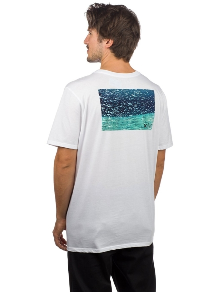 Hurley Clark Little Underwater T-Shirt wit