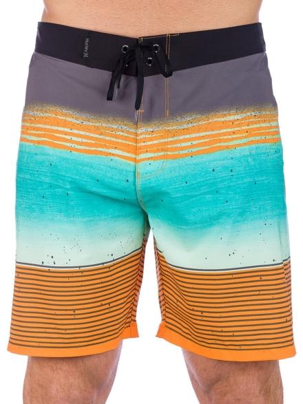 Hurley Phantom Overspray 18'' Boardshorts oranje