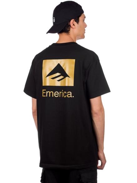 Emerica Brand Stack T-Shirt zwart