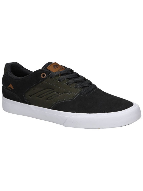 Emerica The Reynolds Low Vulc Skate schoenen grijs