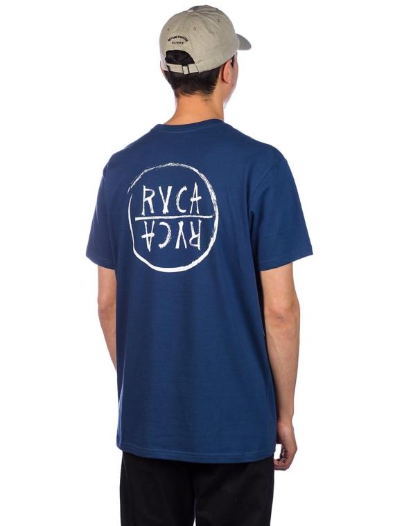 RVCA Font T-Shirt blauw