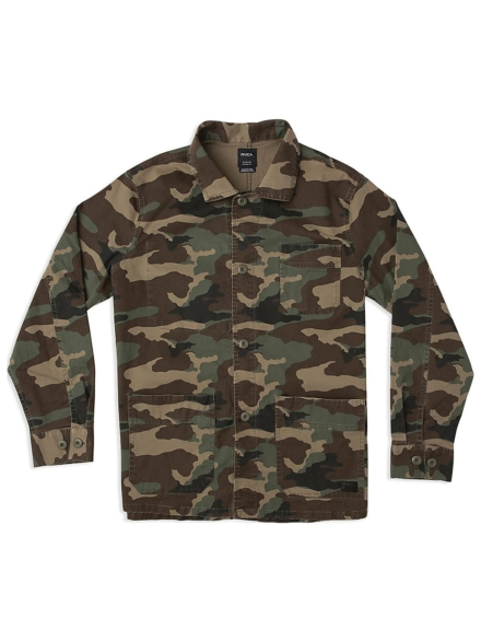 RVCA Couleur Chore jas camouflage