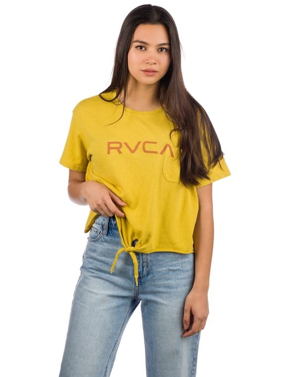 RVCA Big T-Shirt geel