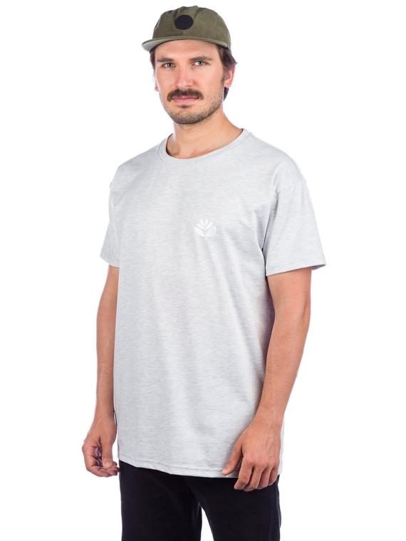 Magenta Heart Plant T-Shirt grijs