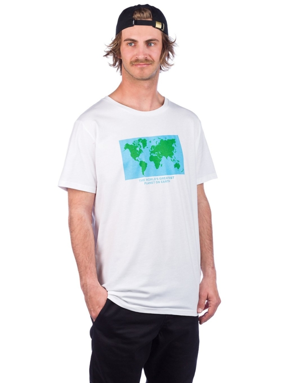 Dedicated Stockholm Greatest Planet T-Shirt wit