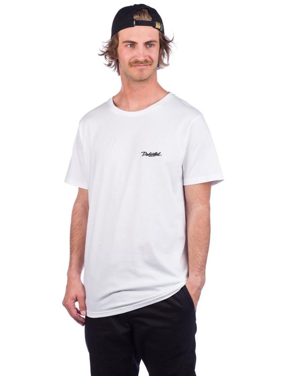 Dedicated Stockholm Dedicated Script T-Shirt wit