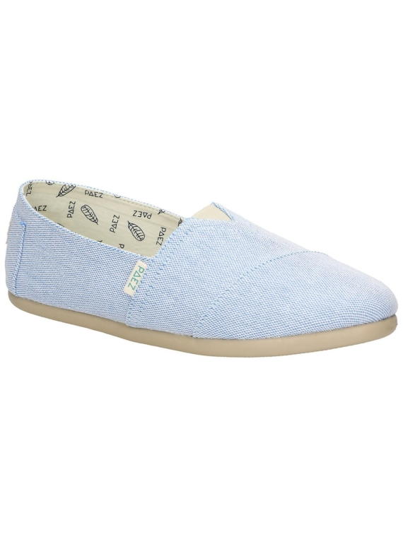 Paez Classic Combi Slip-Ons blauw
