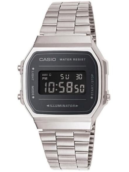 Casio A168WEM-1EF grijs