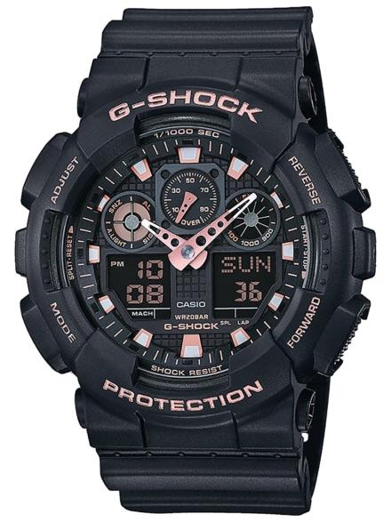 G-SHOCK GA-100GBX-1A4ER zwart