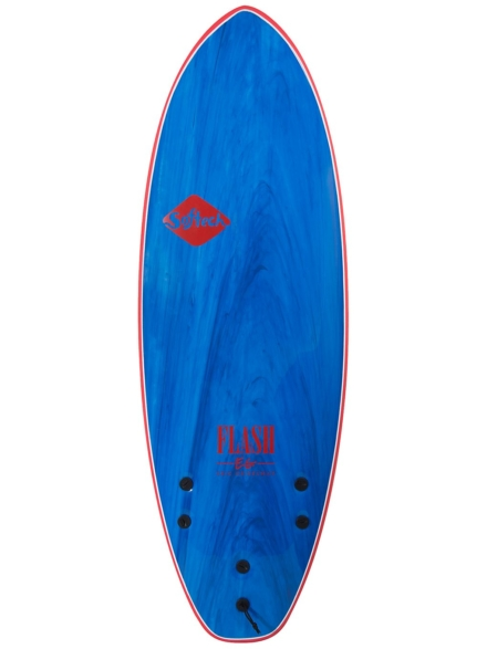 Softech Flash Eric Geiselman FCS II 5'0 blauw