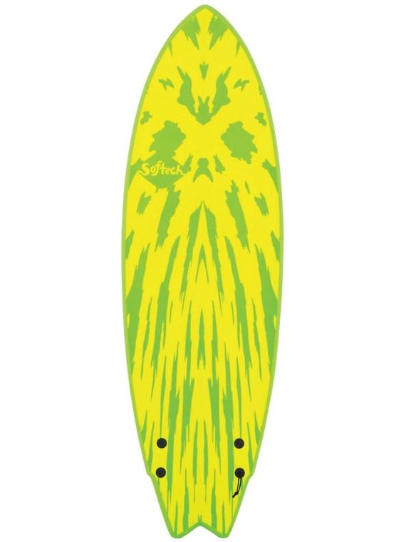 Softech Mason Twin Size 5'6 geel