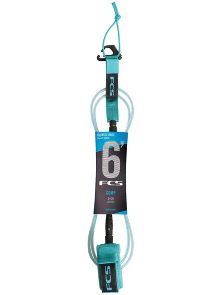 FCS 6' Comp Essential Leash blauw