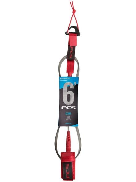 FCS 6' Comp Essential Leash rood
