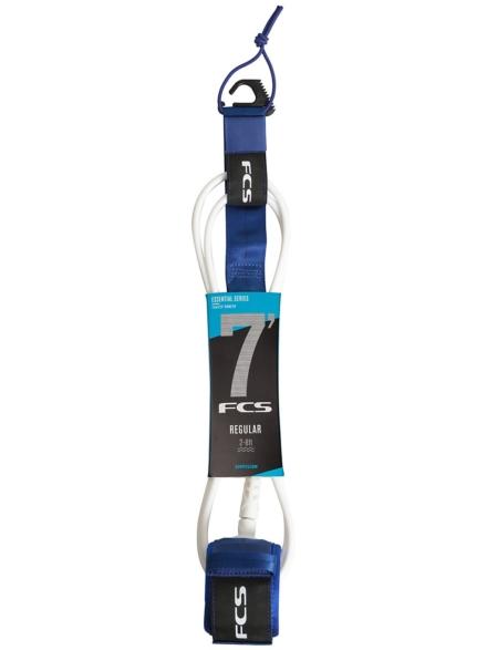FCS 7' Reg Essential Leash blauw