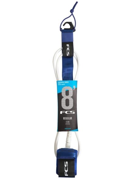 FCS 8.0 Reg Essential Leash blauw