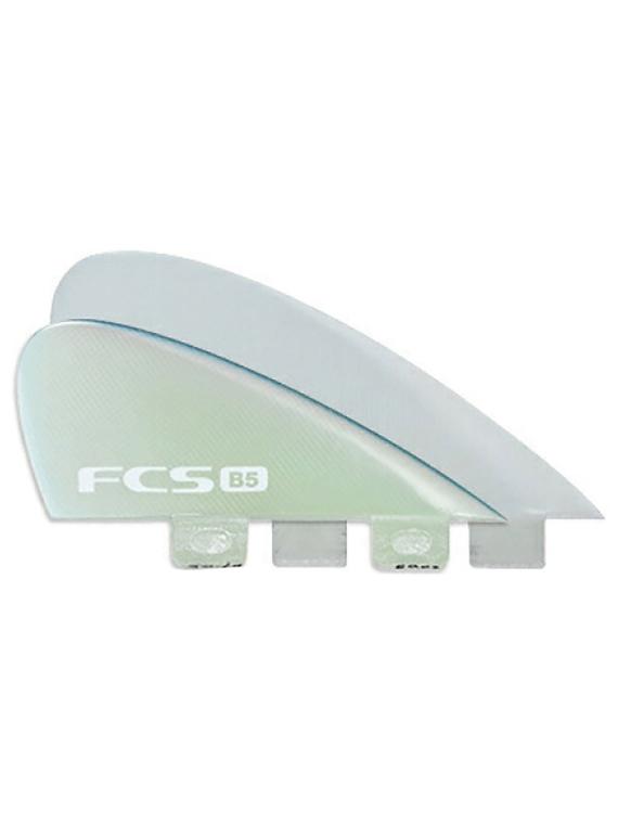 FCS B5 Bonzer PG 4 Fin Set patroon