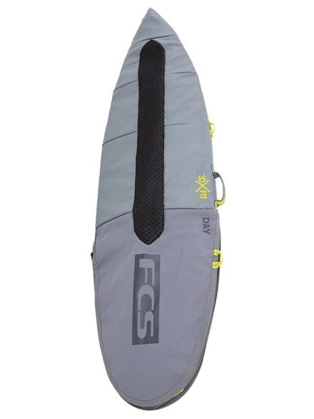 FCS Day All Purpose 5'9 Surfboard tas grijs