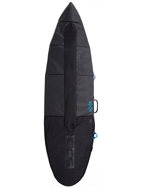 FCS Day All Purpose 6'3 Surfboard tas zwart