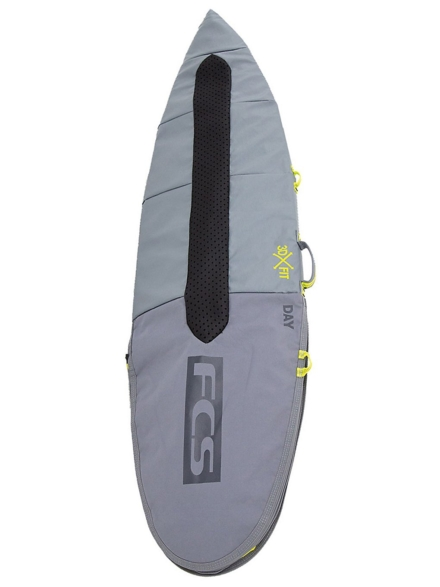 FCS Day All Purpose 6'7 Surfboard tas grijs