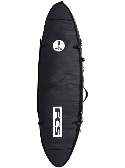 FCS Travel 1 All Purpose 6'0 Surfboard tas zwart