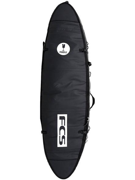 FCS Travel 1 Fun 6'3 Surfboard tas zwart
