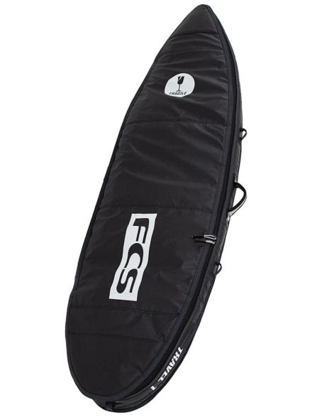 FCS Travel 1 Fun 7'0 Surfboard tas zwart