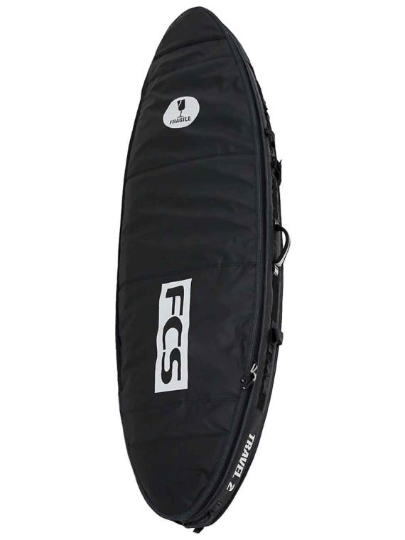 FCS Travel 2 All Purpose 6'3 Surfboard tas zwart
