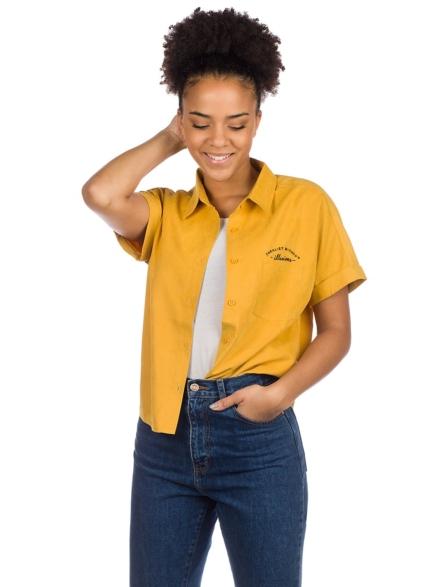 Plenty Zoe Button Down Shirt geel