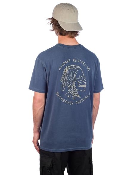 Roark Revival Hobo Nickel T-Shirt blauw