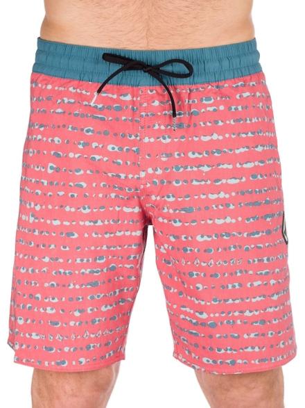 Volcom Stripe Dot 18'' Boardshorts blauw
