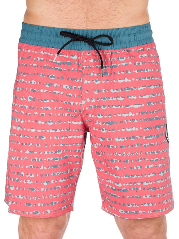 "Volcom Stripe Dot 18"" Boardshorts blauw"