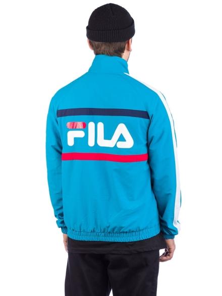 Fila Jona Woven Halt Zip Ski jas blauw
