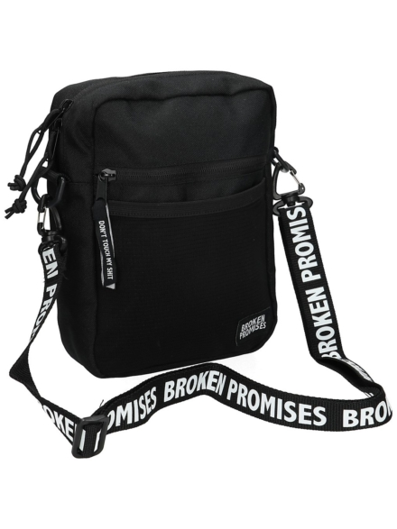 Broken Promises Side tas zwart