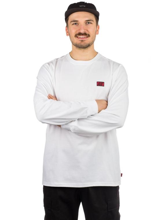 ALIS Classic Mini Logo Long Sleeve T-Shirt wit