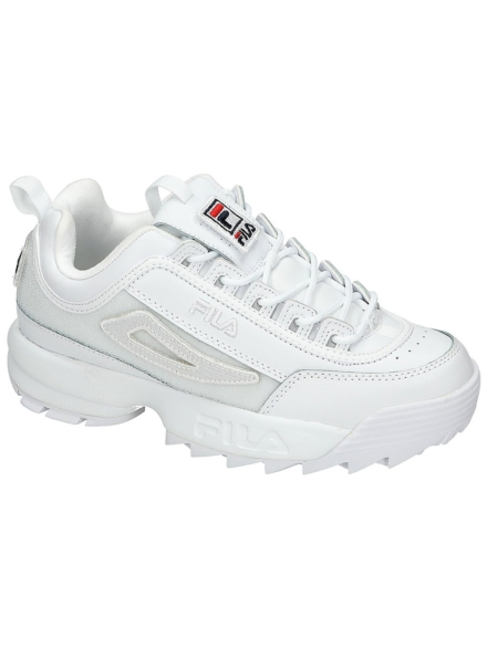 Fila Disruptor II Patches Sneakers wit