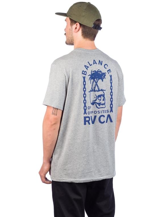 RVCA Bad Palms T-Shirt grijs