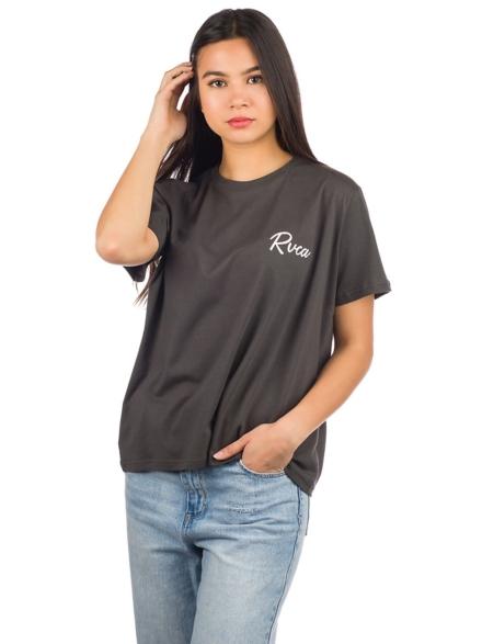 RVCA Tropicale T-Shirt zwart