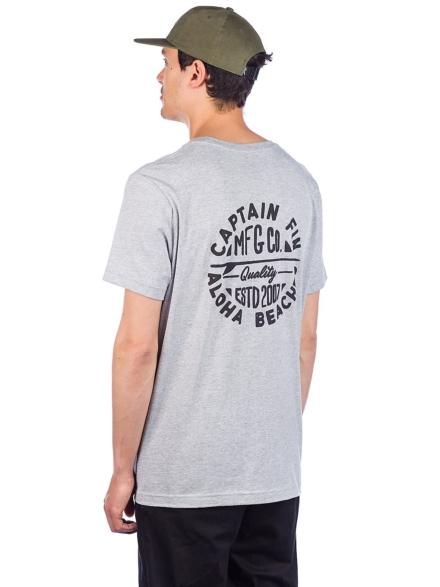 petjetain Fin Aloha Beach T-Shirt grijs
