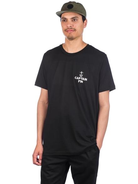 petjetain Fin Harbor T-Shirt zwart