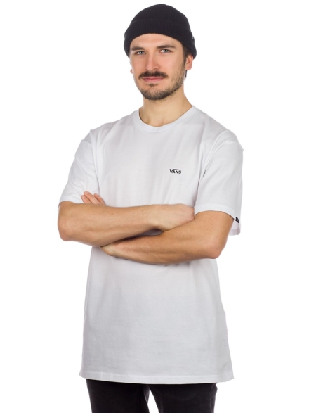 Vans Left Chest Logo T-Shirt wit