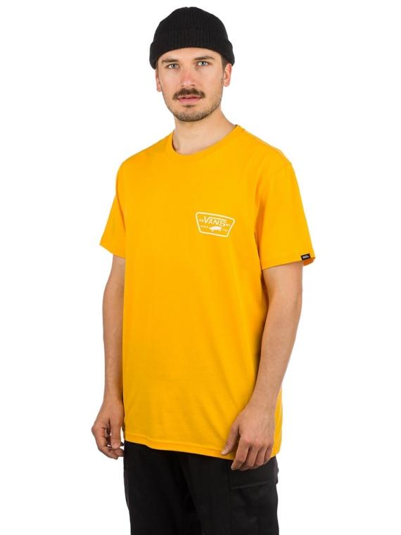 Vans Full Patch Back T-Shirt geel