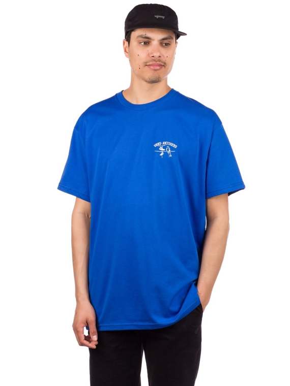Vans X Antihero On The Wire T-Shirt blauw