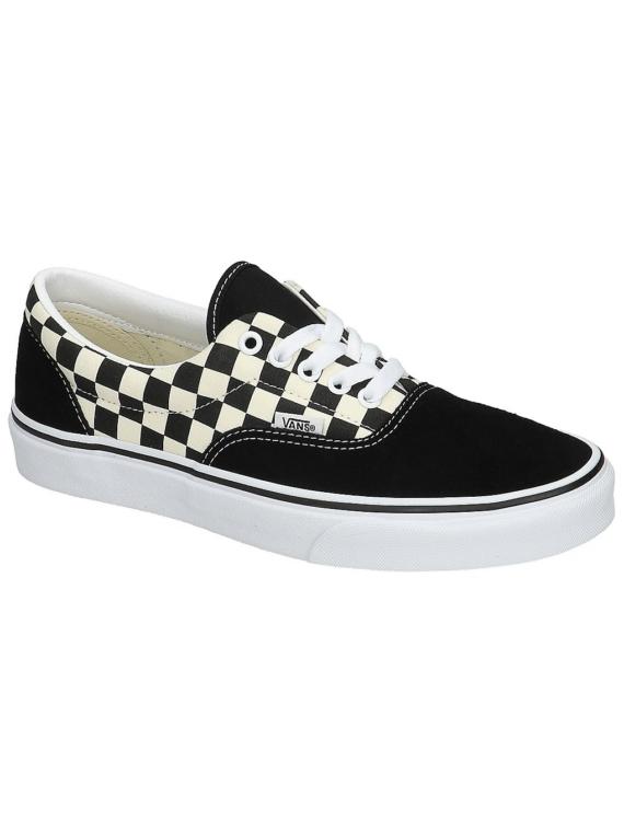 Vans Primary Check Era Sneakers zwart