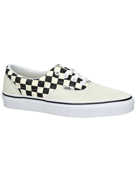 Vans Primary Check Era Sneakers wit