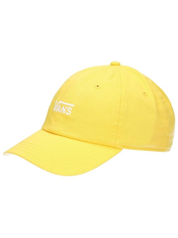 Vans Court Side hoed Yolk petje geel