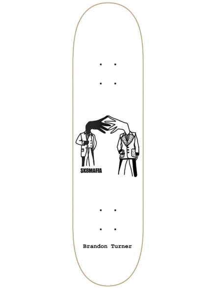 "SK8 Mafia B.Turner All Around 8.3"" Skateboard Deck patroon"