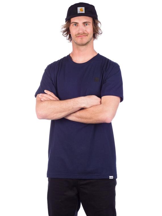 bunth Basic T-Shirt blauw