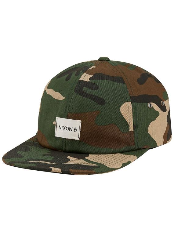 Nixon Sespe Snapback petje camouflage